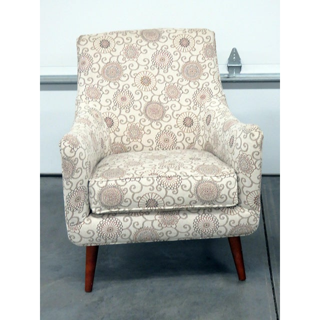 Rowe Mid-Century Modern Style Club Chairs - a Pair