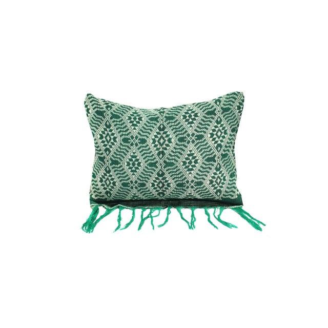 Handloomed Sumba Ikat Lumbar Pillow - Image 1 of 7