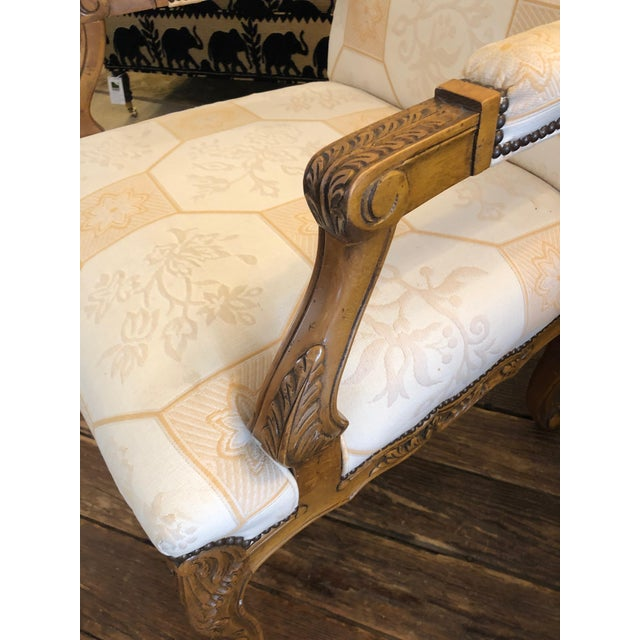French Baker French Style Arm Chair For Sale - Image 3 of 11