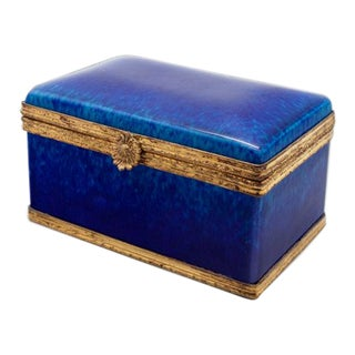 Vintage Sevres Dresser Box by Paul Jean Milet For Sale