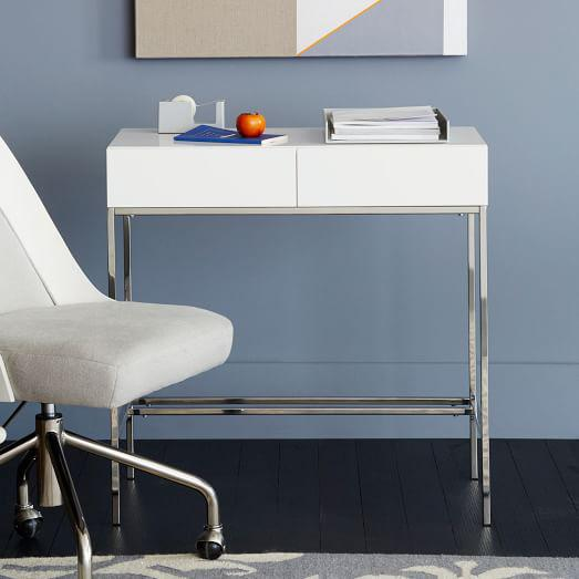 West Elm Lacquer Storage Console Table   Image 3 Of 3