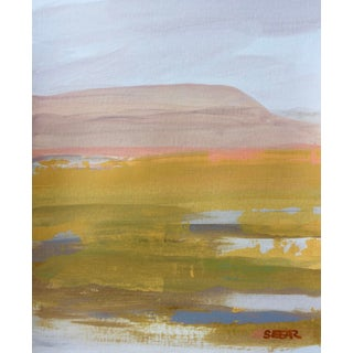 "Contemporary Landscape ""Desert Color Study V"" Painting by Angela Seear For Sale"