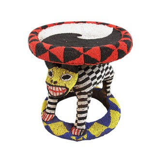 Bamileke Beaded Stool