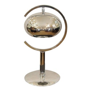 Saturn Chrome Dropshade Desk Lamp For Sale