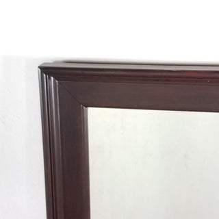 Contemporary Wood Framed Wall Mirror Preview