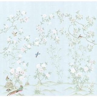 "Casa Cosima Royal Pavilion Wallpaper Mural - 3 Panels 90"" W X 96"" H For Sale"