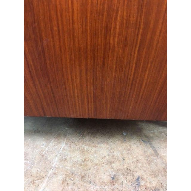 Rosewood Low Back Cube Chair by Komfort of Denmark For Sale - Image 11 of 11