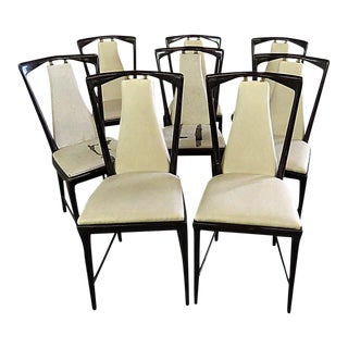 Borsani Dining Side Chairs - Set of 8