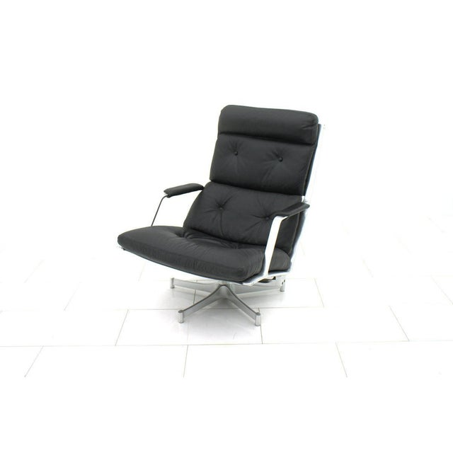 Jørgen Kastholm & Preben Fabricius Lounge Chair by Fabricius & Kastholm for Kill International Fk 85 For Sale - Image 4 of 8