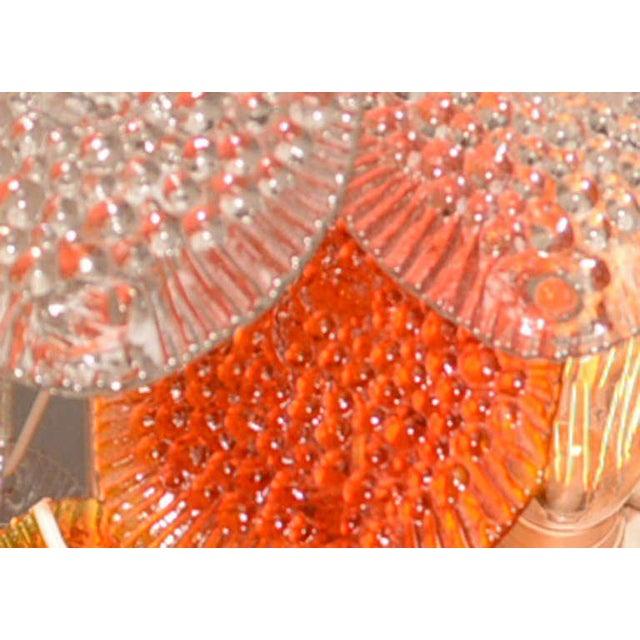 Orange Feders Orange Hanging Chandelier For Sale - Image 8 of 8
