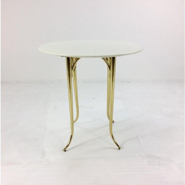 2010s Jeffery Bilhuber for Henredon Large Chelsea Road Side Table For Sale - Image 5 of 5