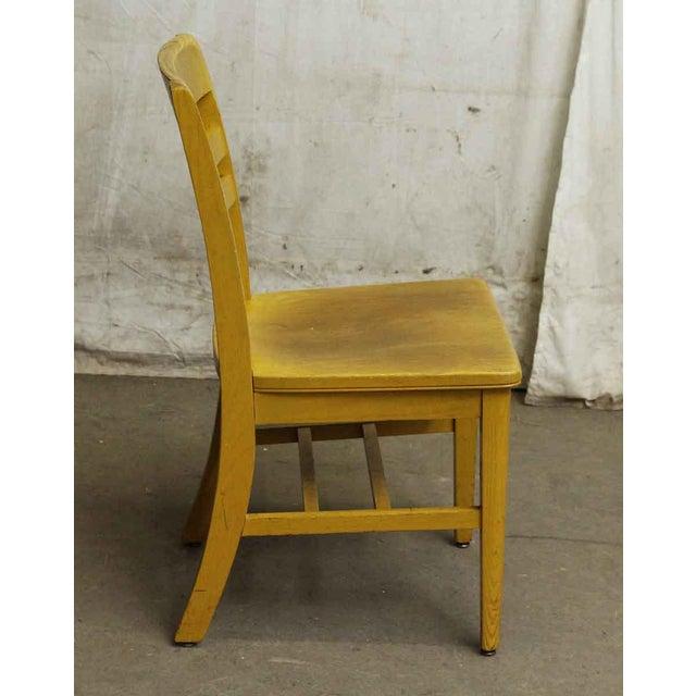 Wooden School Chair - Image 4 of 7