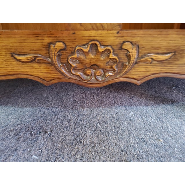 20th Century French Parquet Top Buffet/Sideboard For Sale - Image 12 of 12