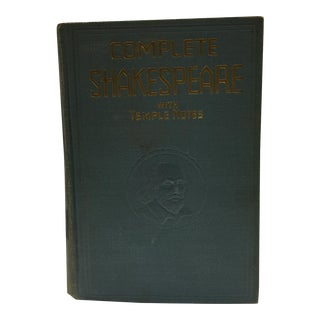 Complete Shakespeare with Temple Notes Book For Sale