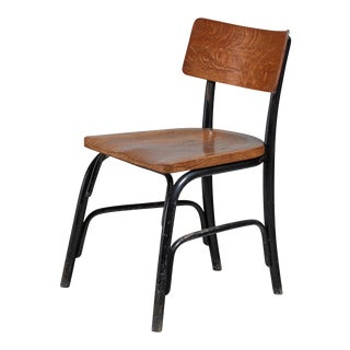 Fritz Schlegel Oak and Beech 'Husum' Chair, Denmark, circa 1930 For Sale