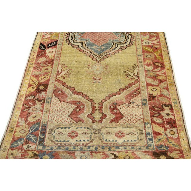 Vintage Mid-Century Turkish Oushak Accent Rug - 2′9″ × 5′10″ For Sale In Dallas - Image 6 of 8