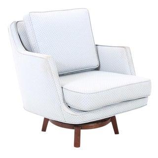 1960's Vintage Edward Wormley for Dunbar Swivel Chair For Sale