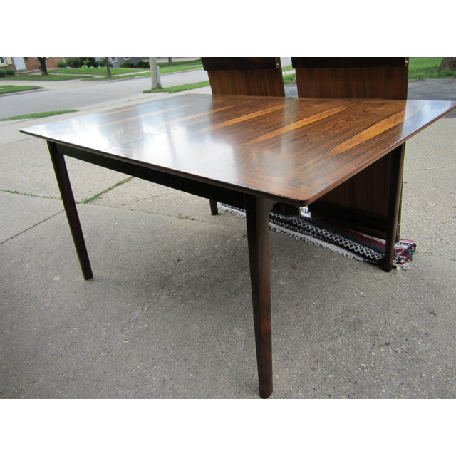 Westnofa Norway Mid-Century Brazilian Rosewood Dining Table - Image 6 of 7