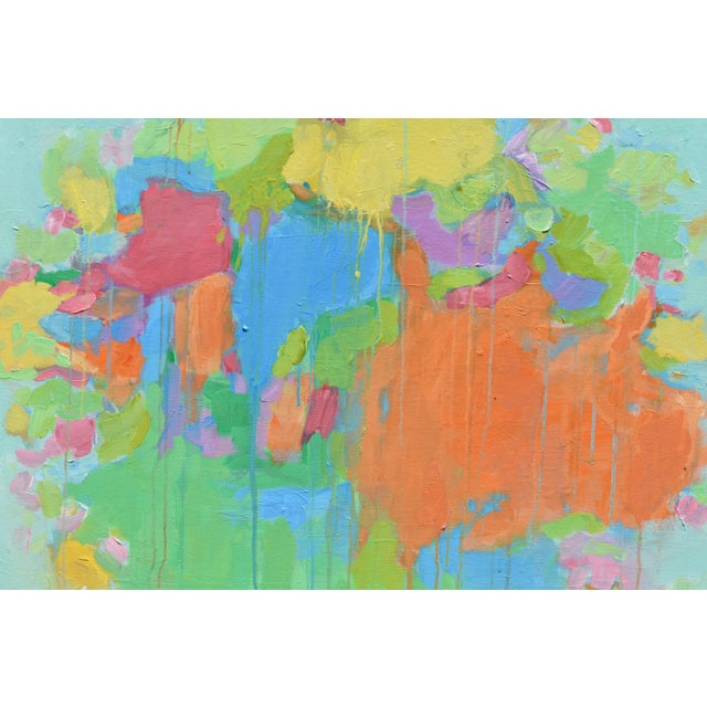 """Modern """"Bouquet- Out of Many, One"""" Abstract Painting by Stephen Remick For Sale - Image 9 of 13"""