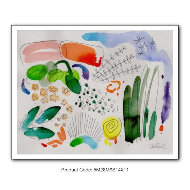 """Not Yet Made - Made To Order Garden Set of Four Giclee Prints, 14x11"""" For Sale - Image 5 of 6"""