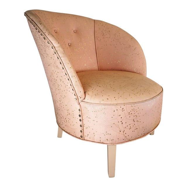 Deco Shell Club Chair - Image 1 of 9
