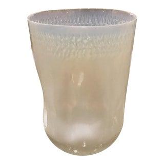 Arteriors Modern Opal Art Glass Vase For Sale