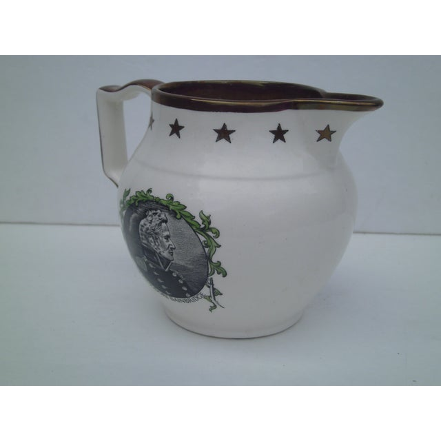 English Transferware & Copper Luster Pitcher - Image 8 of 10