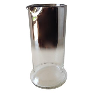 Dorothy Thorpe Silver Ombré Juice Carafe For Sale