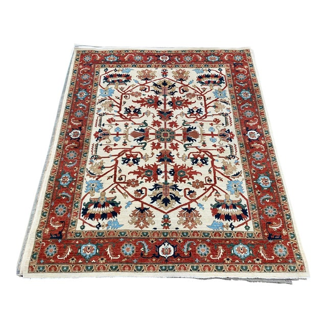 "Contemporary Hand Weaved Kazak Rug-11'8"" X 14'5"" For Sale"