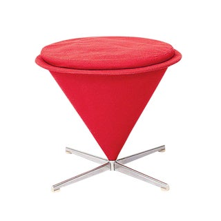 Verner Panton Low Cone Stool For Sale