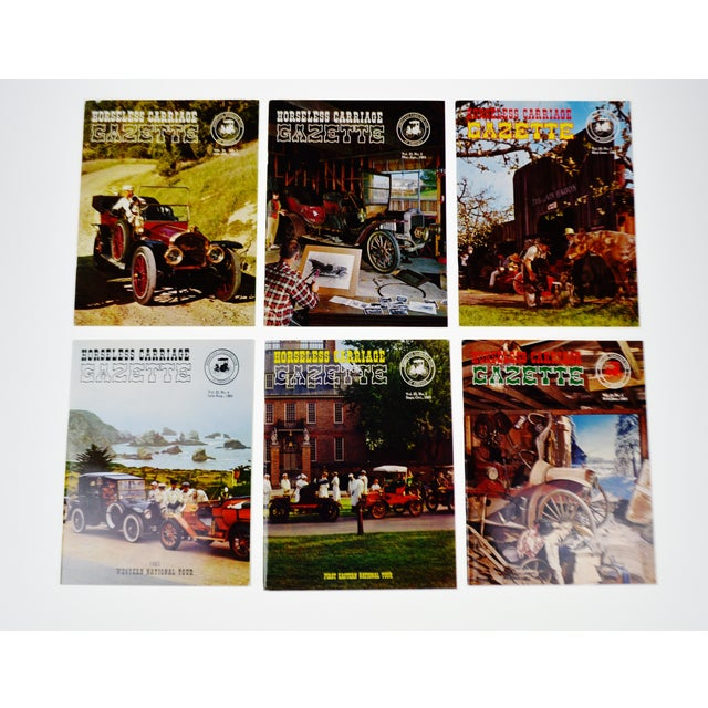Horseless Carriage Gazette Magazines - 1963 Full Year - Collectible - Image 11 of 11