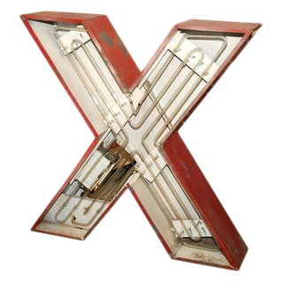 "Neon ""X"" For Sale"