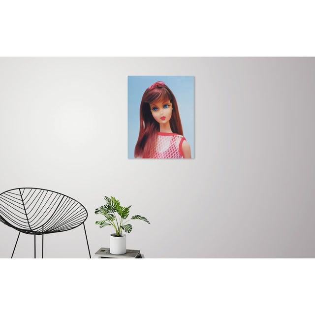 """""""Twist 'N Turn"""" Barbie Oil Painting For Sale - Image 9 of 11"""