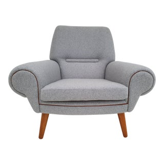 1960s Vintage Kurt Østervig Model 14 Danish Lounge Chair For Sale