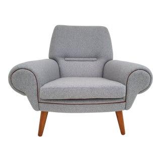 1960s Vintage Kurt Østervig Model 14 Danish Lounge Chair For Sale