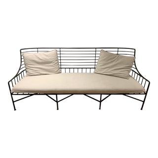 CB2 Breton Outdoor Sofa For Sale