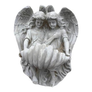 Angel Wall Font Planter