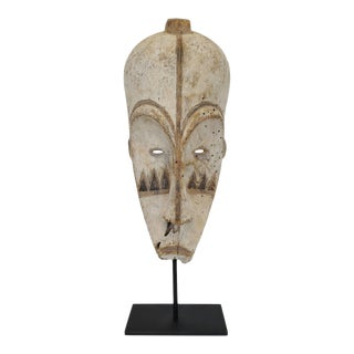 Fang Gabon Mask on Stand For Sale
