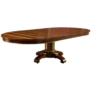 19th Century Russian Style Rosewood Dining Table For Sale