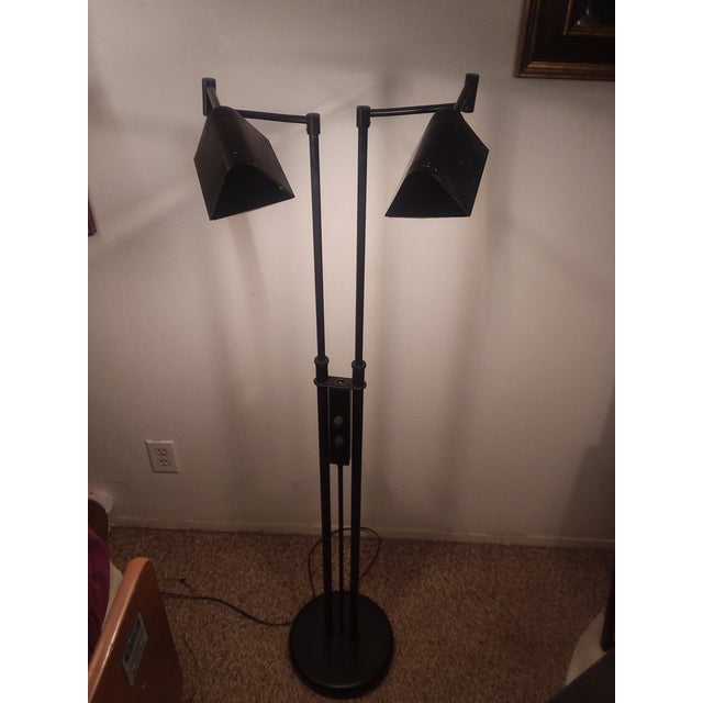Today I'm offering a (Lite Source) double arm halogen floor lamp High quality then and now. this was top brand and...