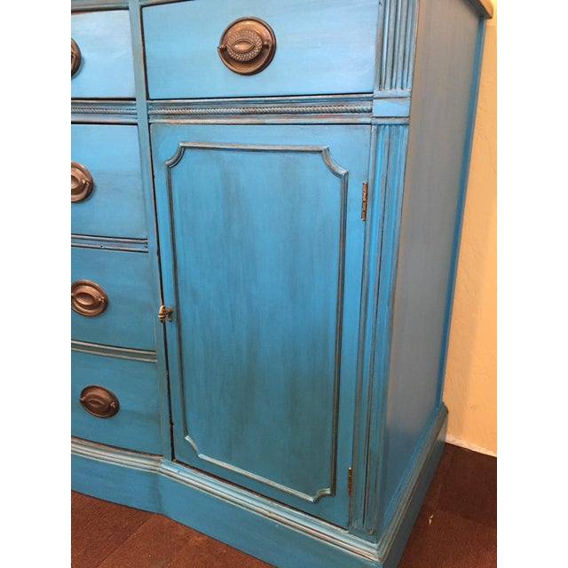 1940s Corinth Blue Credenza - Image 3 of 10