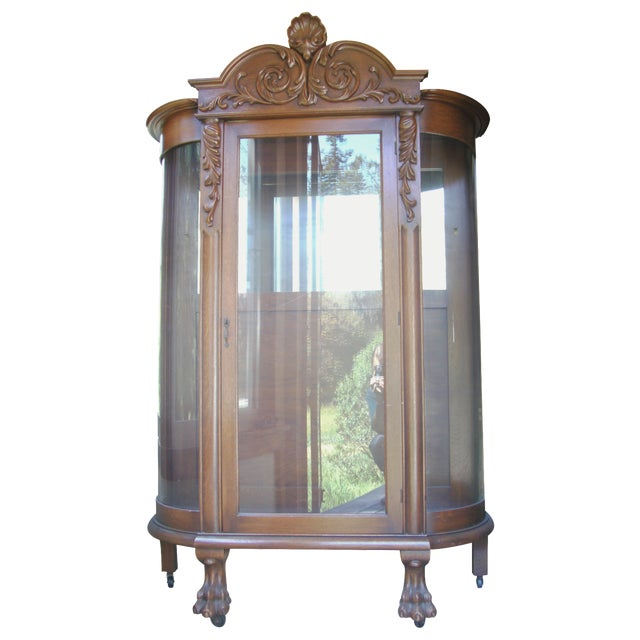 19th-C. Heirloom Display Cabinet - Image 1 of 4