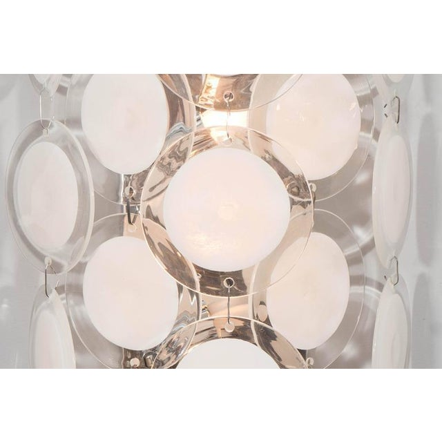 Modern Murano Glass Disc Sconce For Sale - Image 3 of 4