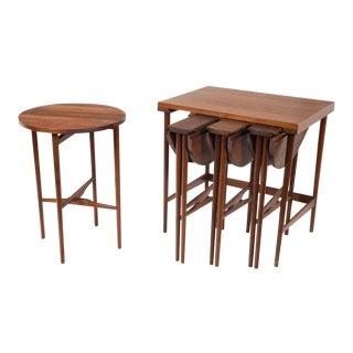 Bertha Schaefer for M. Singer & Sons Nest of Occasional Tables For Sale