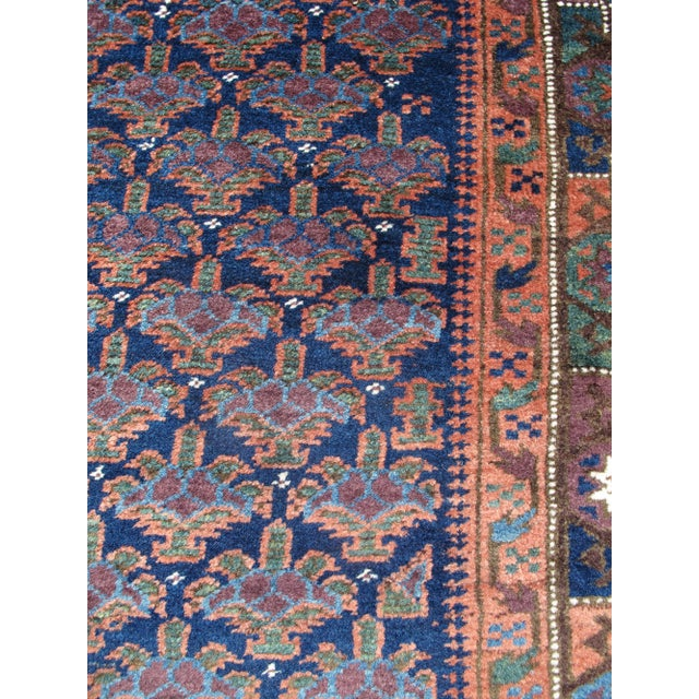 Traditional Baluch rug For Sale - Image 3 of 5