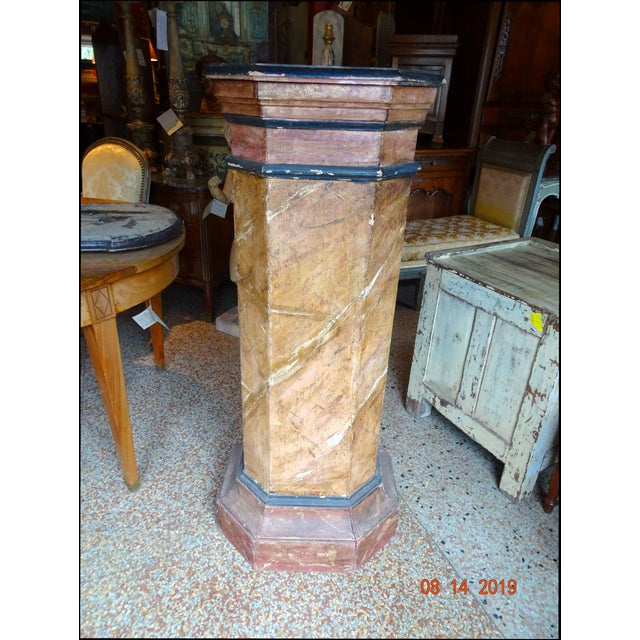 19th Century Italian Pedestal For Sale - Image 11 of 11
