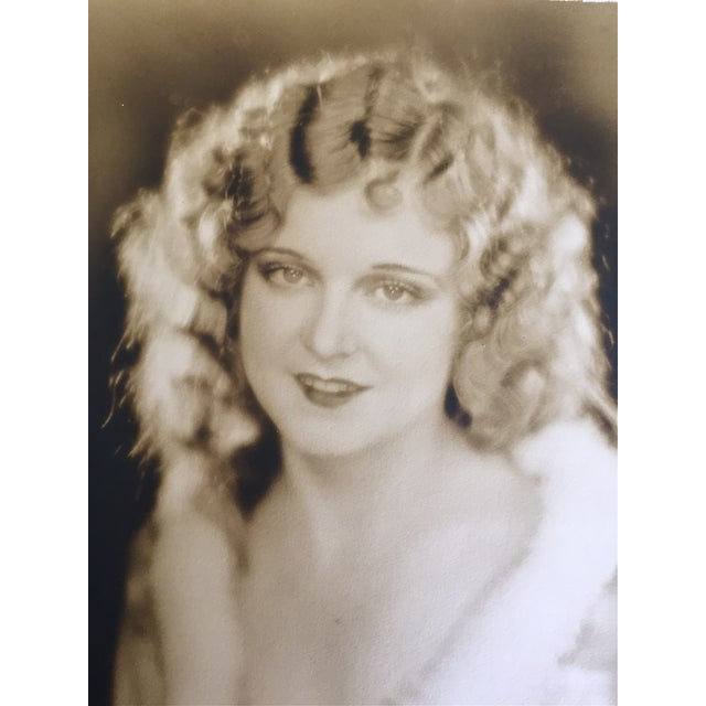 Hollywood Regency 1920 Hollywood Portrait by Edwin Bower Hesser For Sale - Image 3 of 5