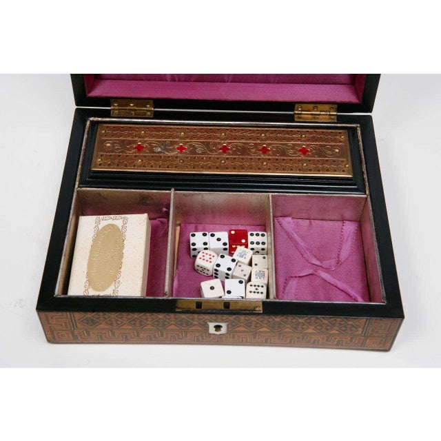 19th Century English Game Box For Sale - Image 4 of 11