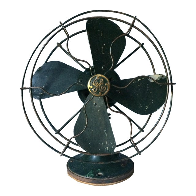 Vintage GE Industrial Table Fan - Image 1 of 10
