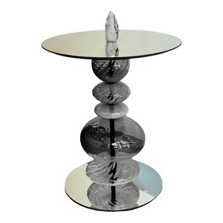 Abacus Mink Accent Table For Sale